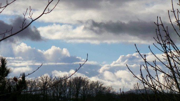 ciel de fevrier